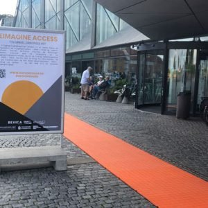The Orange Accessibility Floor